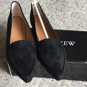 Microsuede black Loafers
